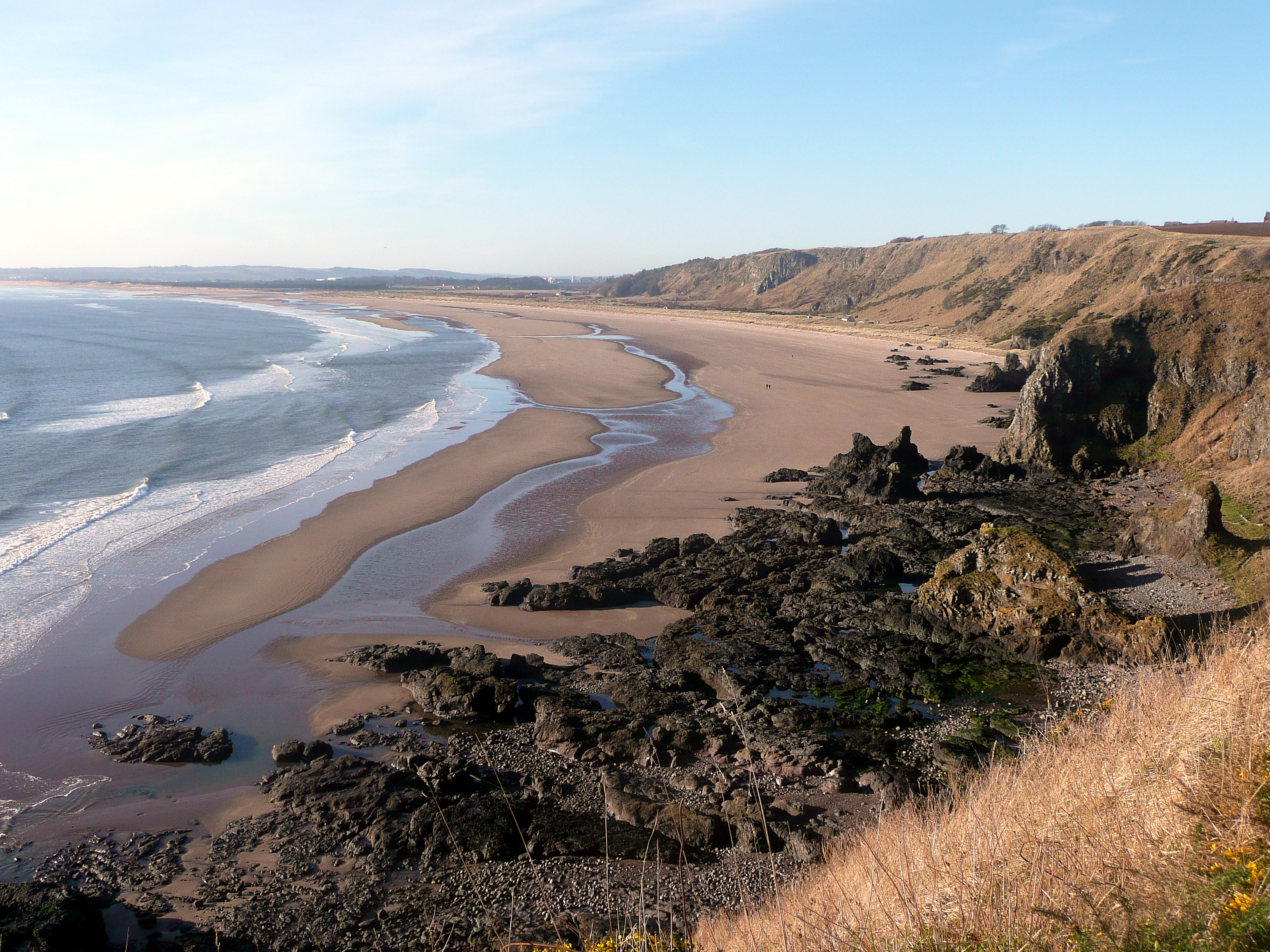 St Cyrus Beach Walk